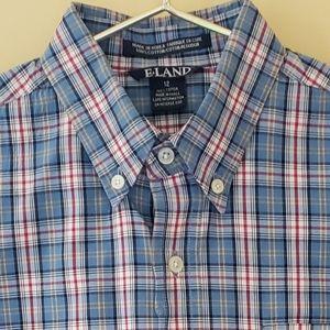 E-Land Big Boys Button Down Shirt